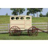 Vintage Restored Bakery Wagon w/Shafts