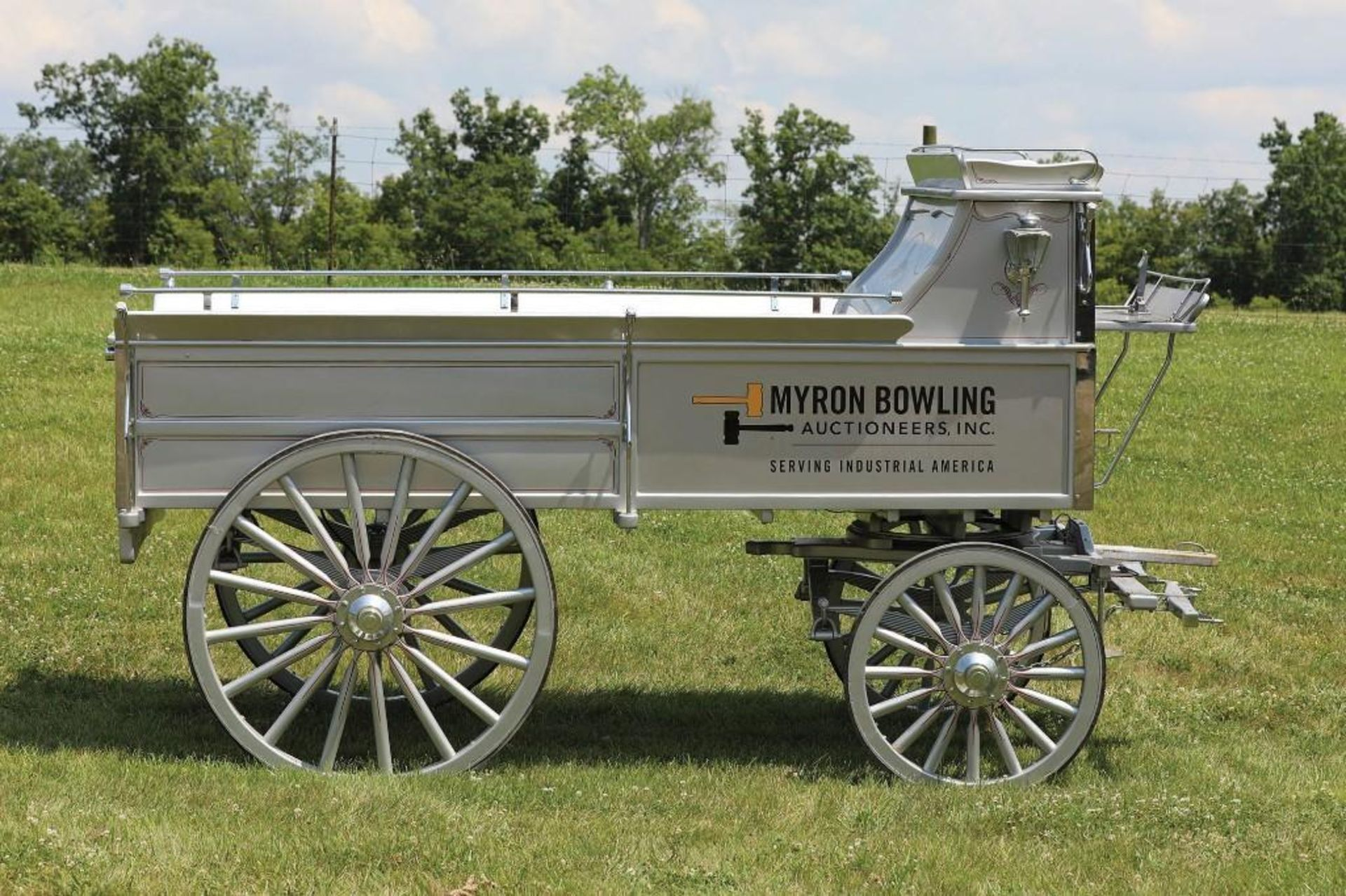 ROBERTS 5th Wheel Hitch Wagon, Setup for 6-Up