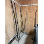 8' Steel Buggy Shaft, 36'' Outside Hitch Pins