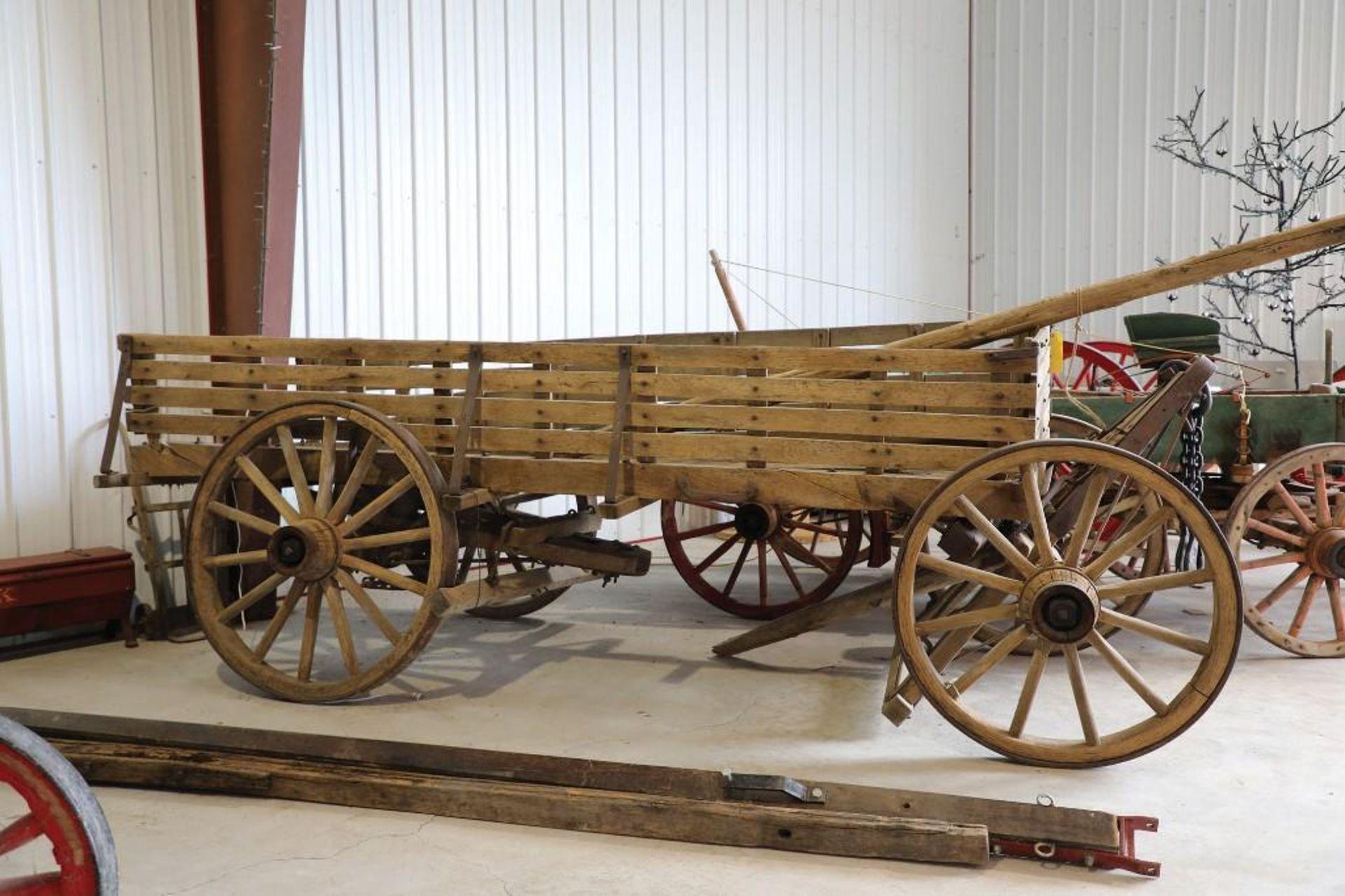 Original Farm Wagon - Image 2 of 2