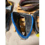 28'' Brahma Webb Leather/Fleece Collar