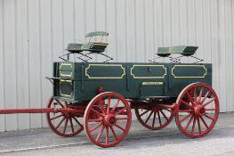 (2) Seats from John Deere Box Bed Farm Wagon