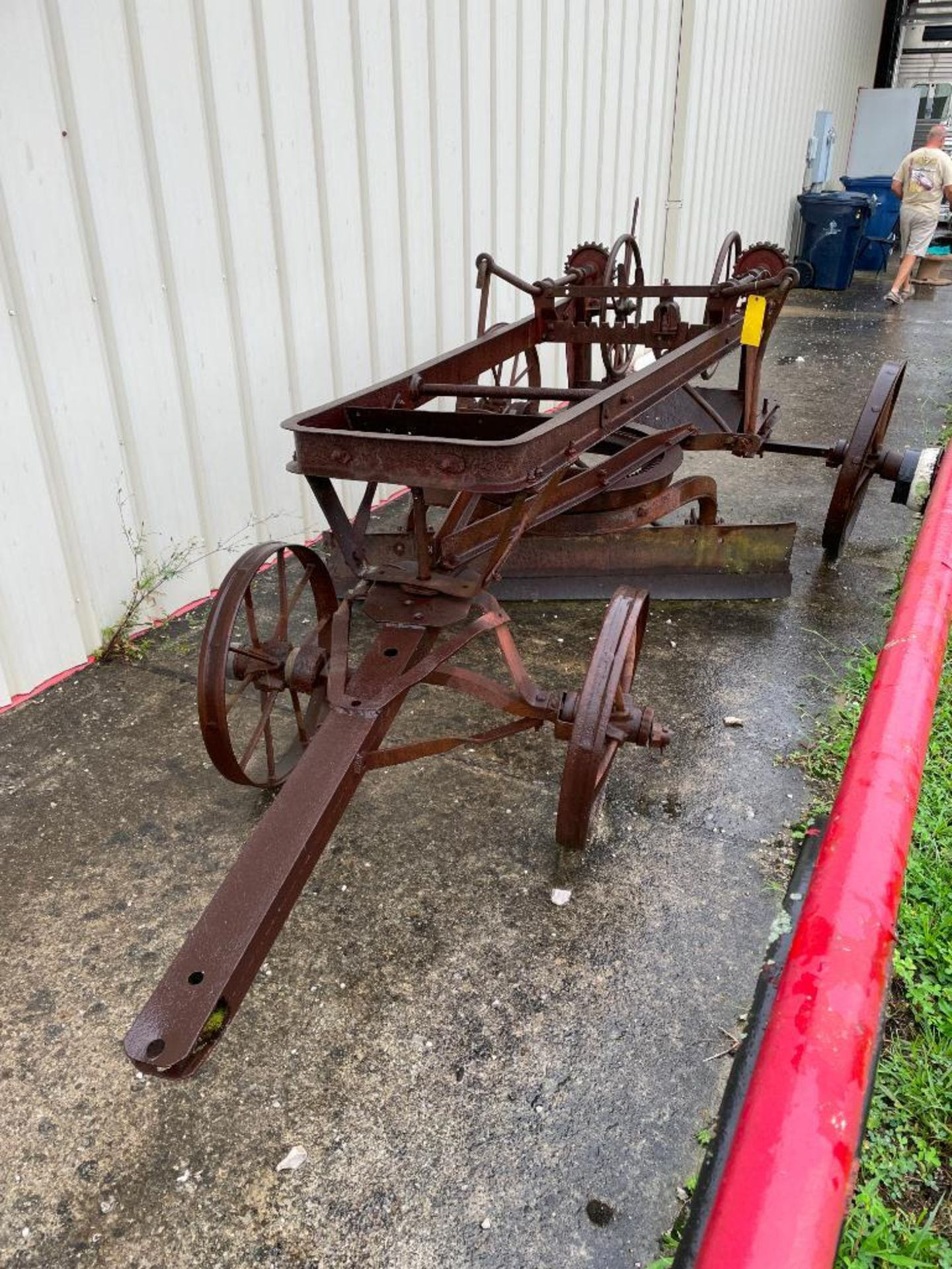 Horse Drawn Hill-Side Grader Blade Factory No. 3301 - Image 2 of 5
