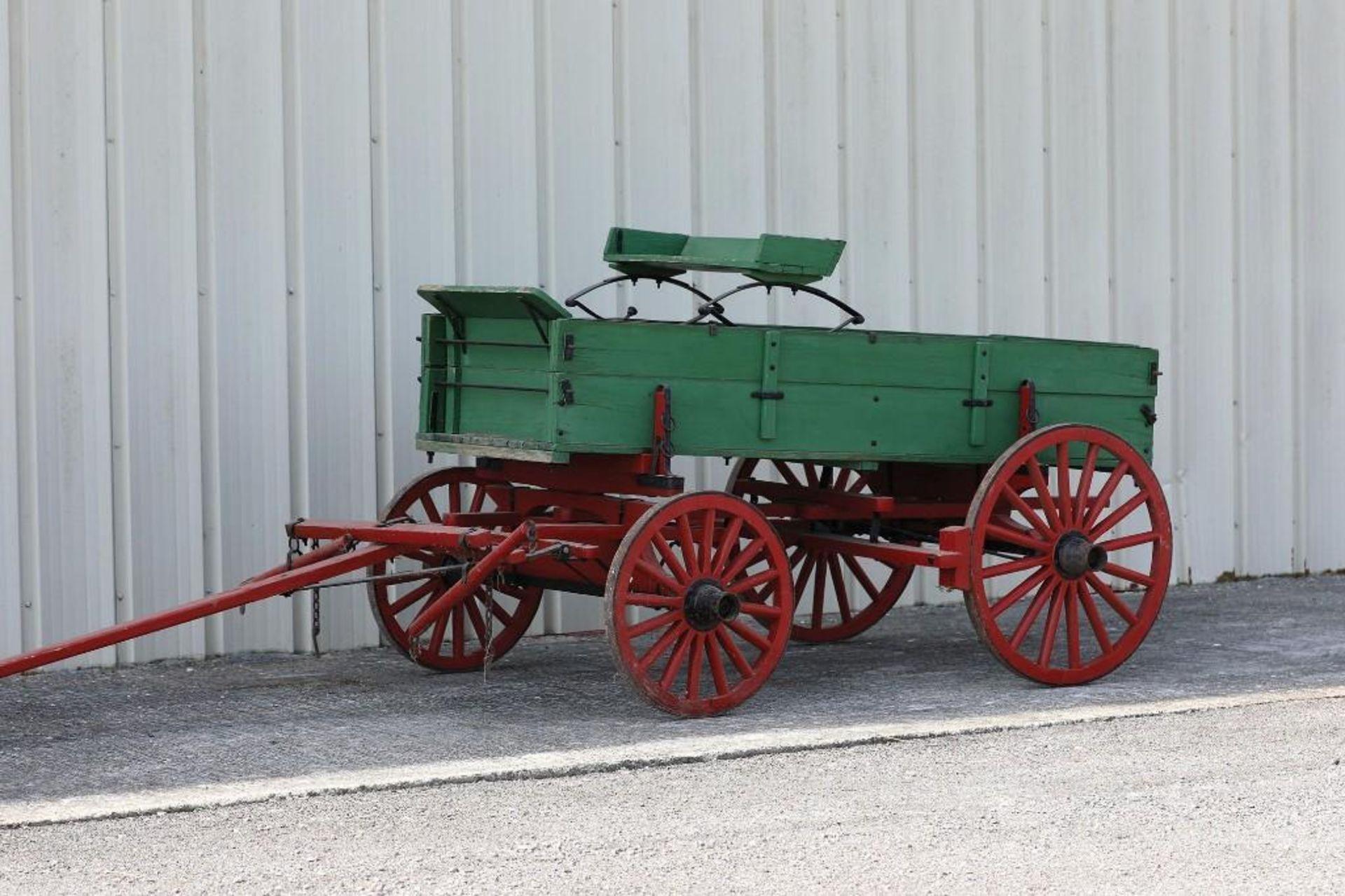 Pony Box Bed Farm Wagon - Image 2 of 2