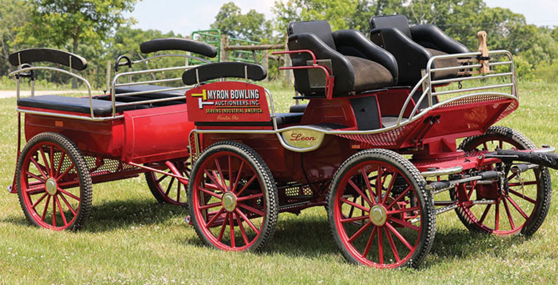 (2) Complete Dispersals - 30-Year Collection of Horse-Drawn Carriages, Wagons, Sleighs & Many Other Items