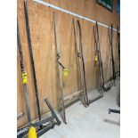 8' Wooden Buggy Shaft, 35-1/2'' Outside Hitch Pins