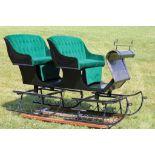 2-Seater Sleigh