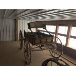 Hunter's Carriage; Supposedly dates to the 1700's.Originates from the President McKinley Estate