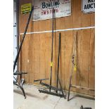 10' Steel Carriage Pole, 36'' Outside Hitch Pins, w/Replacement Pole End