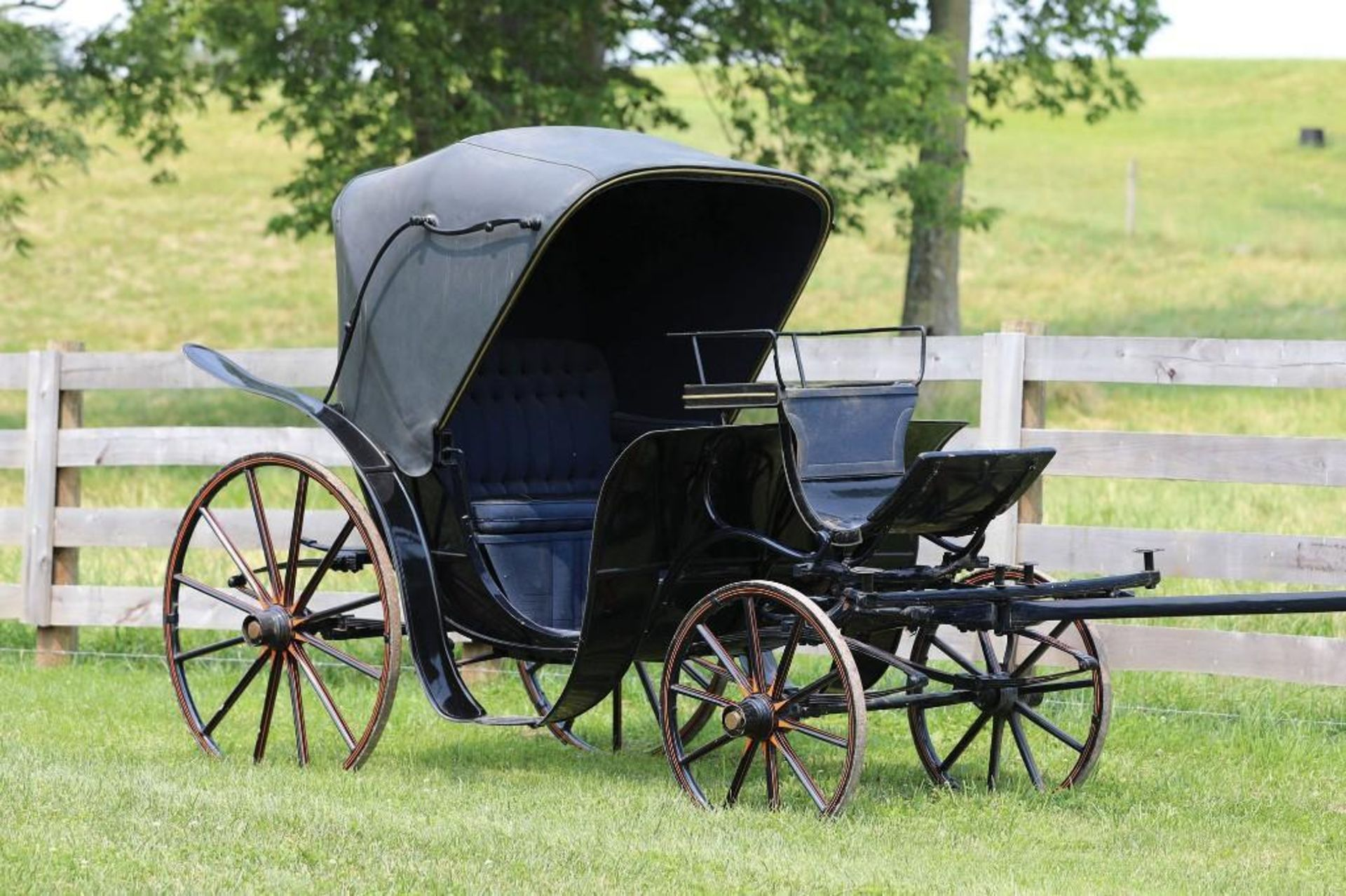 KING GEORGE V Victoria Carriage from Estate of Dimwitte Lampton in Lexington, KY - Image 2 of 2