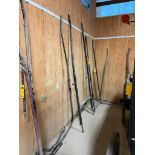 7' Wooden Buggy Shaft, 40'' Outside Hitch Pins