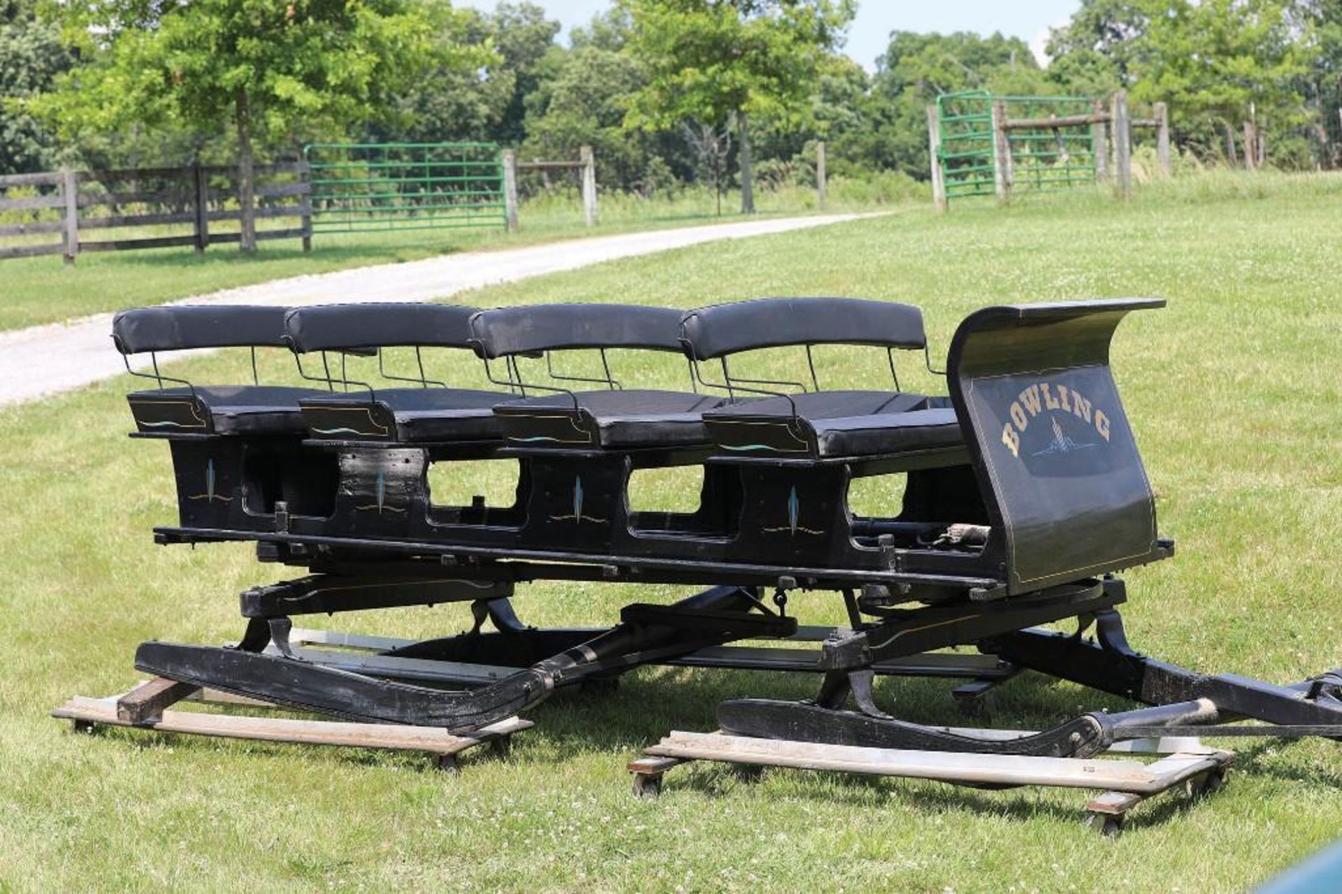 New 4-Seat Bobsled, Custom-Built - Image 2 of 2