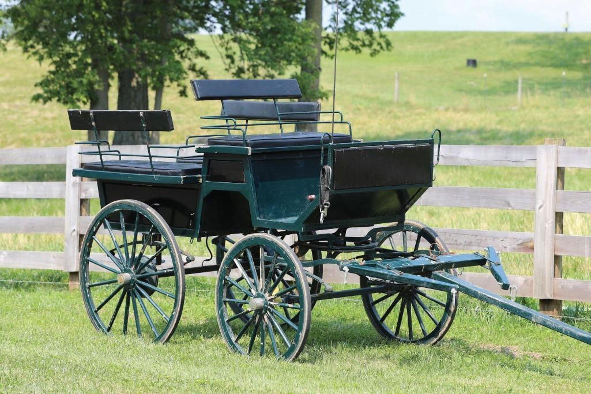 Wagonette w/Pole & Brakes - Image 2 of 2