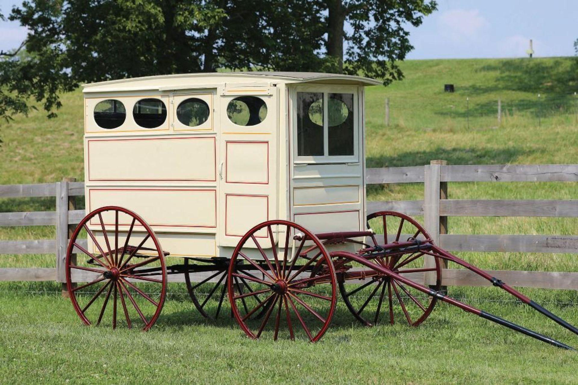 Vintage Restored Bakery Wagon w/Shafts - Image 2 of 2