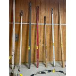 11' 6'' Carriage Pole, w/Steel Hold Back