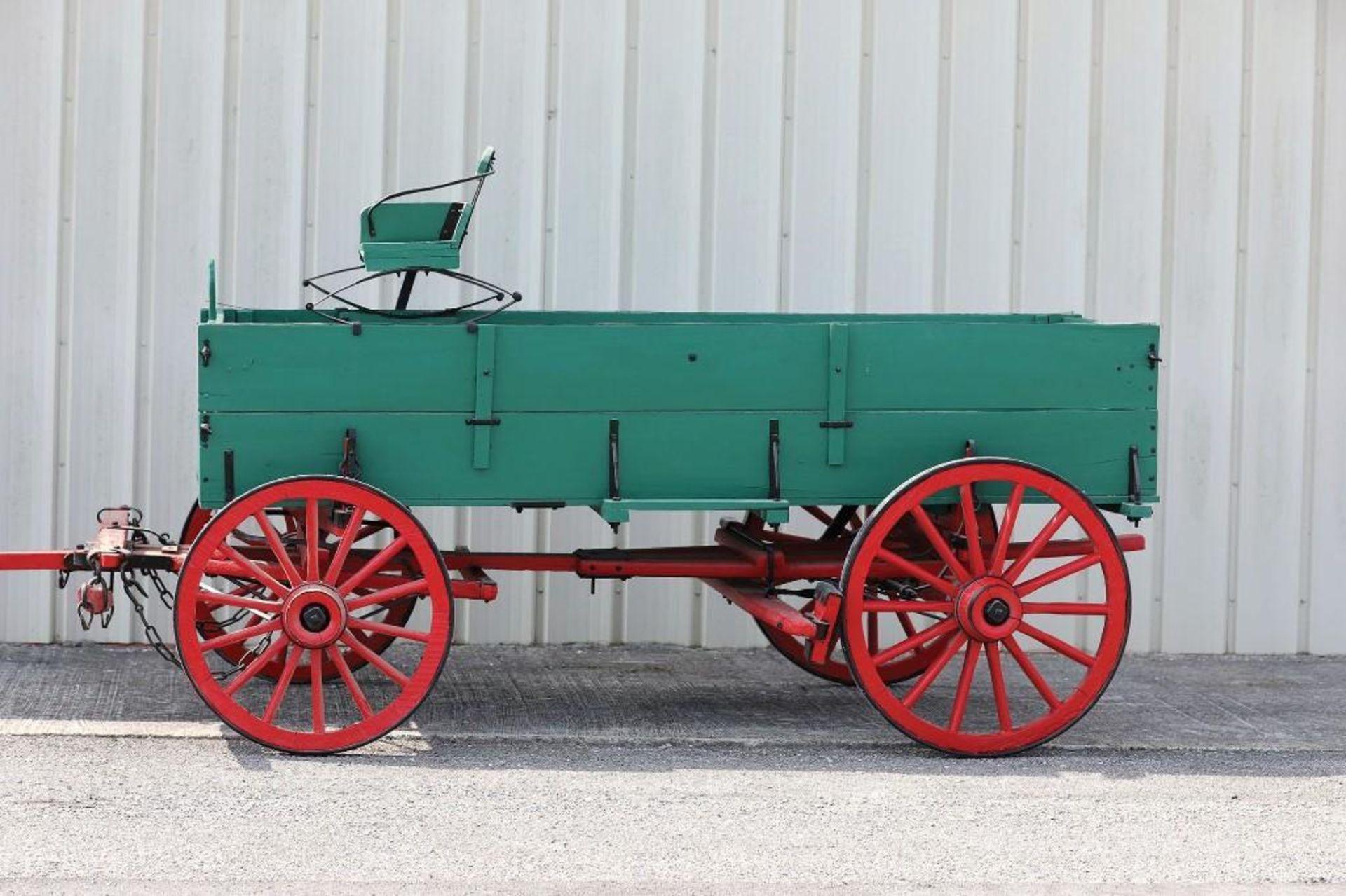 OWENSBORO Boxed Bed Farm Wagon, Recent Restoration