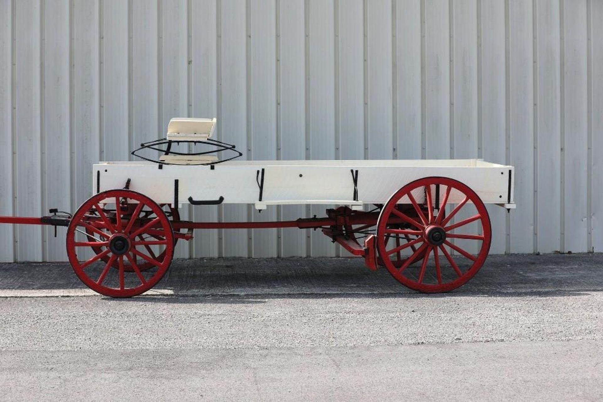OWENSBORO Box Bed Farm Wagon, Original Plate