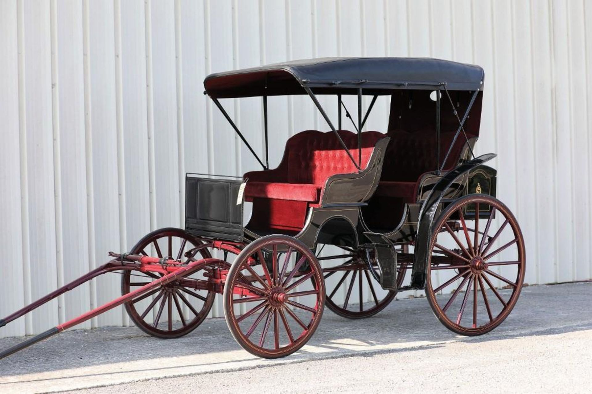 ROBERTS 2-Seat Surrey, Never Hitched - Image 2 of 2
