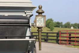Ornate Lamps from Merts & Riddle Hearse
