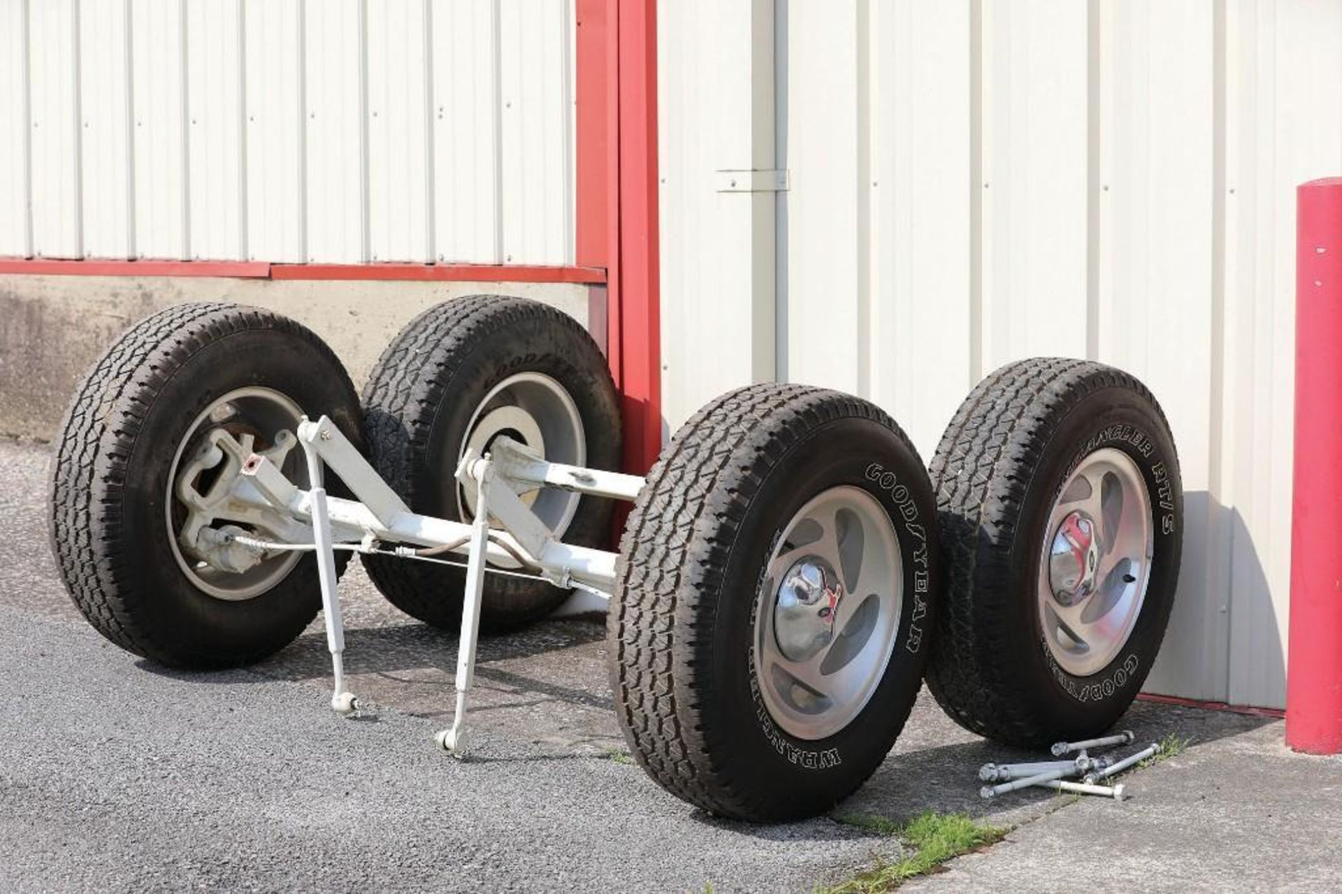 5th Wheel Hitch Wagon, Extra Front & Rear Axles for Transport Loading - Image 3 of 3