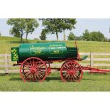 Restored Vintage Standard Oil Fuel Wagon