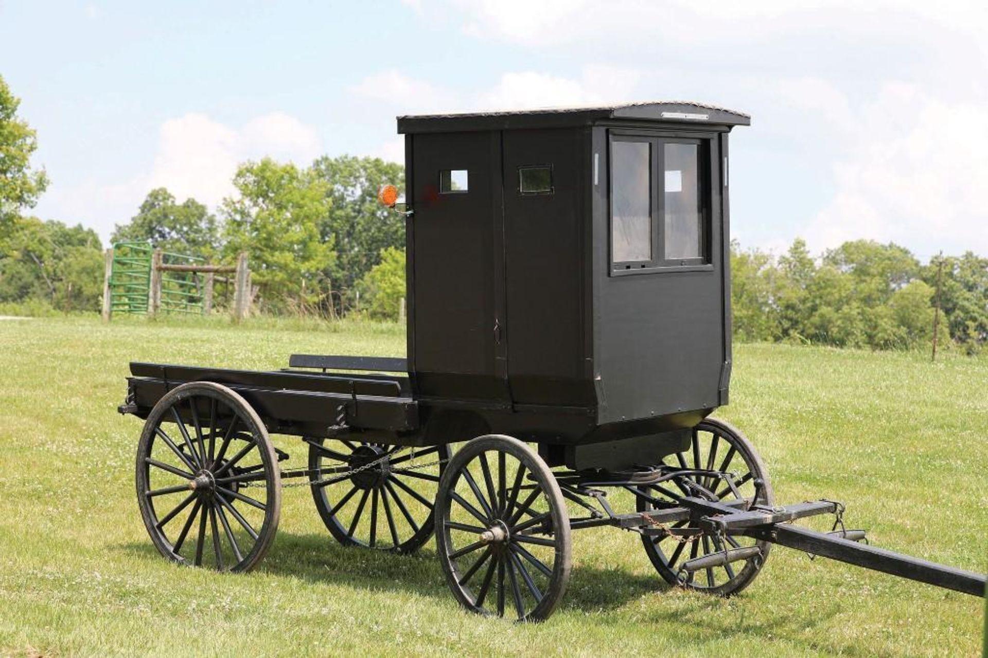 Amish-Built Cut-Under Storm Wagon