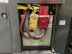 ENERSYS 24 V BATTERY, MODEL E100X-15, AMP HOUR CAPACITY: 700, 1,220-LBS., HOLDS CHARGE