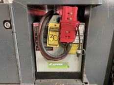 ENERSYS 24 V BATTERY, MODEL E100X-15, AMP HOUR CAPACITY: 700, 1,235-LBS., HOLDS CHARGE