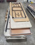 (3) SKIDS OF FOLDING TABLES