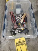 CONTAINER OF ASSORTED TOOLS***BEGIN LOCATION: 13000 DARICE PKWY, STRONGSVILLE, OH 44149***