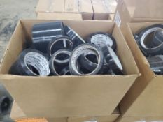SKID OF TENSILIZED POLYPROPYLENE STRAPPING BLACK