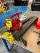TORO ELECTRIC BLOWER/VAC AND ATTACHMENTS