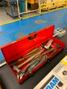 TOOL BOX W/ CONTENT, PUNCH SET