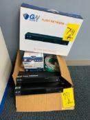 (2) GW SECURITY H.265 NETWORK VIDEO RECORDERS, GW 5MP DOME CAMERA