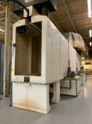 JORDAN COMPOSITES 3-STAGE COMPOSITE WASHER, 52'' X 84'' PARTS OPENING, 12'H X 67''W X 46'L OVERALL D