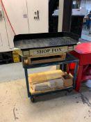 SHOP FOX W1733A PARTS WASHER W/CART