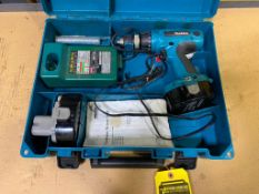 MAKITA CORDLESS DRILL W/ SPARE BATTERY AND CHARGER