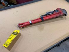 (2) 18'' PIPE WRENCHES