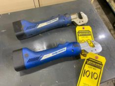 (2) THOMAS & BETTS ELECTRICAL CRIMPERS, BAT22-6