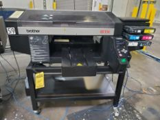 BROTHER GTX 422 DIRECT TO GARMENT PRINTER; WITH LENOVO THINKPAD, S/N A9930448