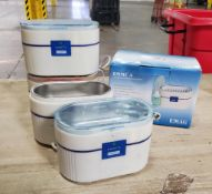 (5) EMMI ULTRASOUND CLEANERS