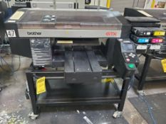 BROTHER GTX 422 DIRECT TO GARMENT PRINTER; WITH LENOVO THINKPAD, S/N H7923976