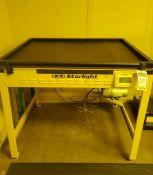 M&R STARLIGHT SCREEN ULTRAVIOLET MACHINES; MODEL SL314010L6ABL, S/N 193694808S, ULTRAVIOLET