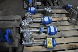 (4X) MASONEILAN GE OIL & GAS INCONEL DIGITAL LEVEL TRANSMITTER, MODEL 12420-51