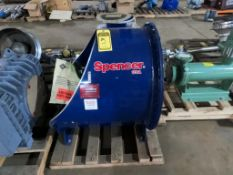 SPENCER 5-HP 3-PH GAS BOOSTER, MODEL G-1205-H MOD, NEW