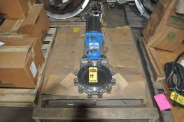 ORBINOX CYLORBEXET10.0 STAINLESS STEEL ACTUATED KNIFE GATE VALVE 10'', NEW