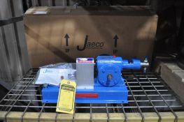 JAECO FLUID SYSTEMS STAINLESS METERING PUMP, 1/3-HP, MODEL 104-115S2N2, NEW