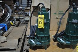 ZOELLER 1.5-HP BAX294-C SEWAGE SUBMERSIBLE PUMP FOR HAZARDOUS LOCATIONS, NEW IN BOX