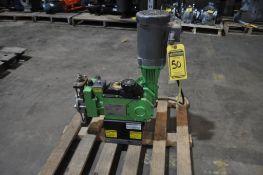 PULSAFEEDER .33-HP STAINLESS STEEL METERING PUMP, MODEL 25HL, 1.97 GPM