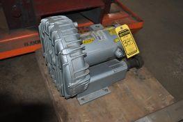 GAST REGENAIR GAS REGENERATIVE VACUUM PUMP, MODEL: R6335A-2